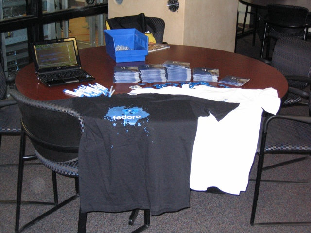 ABLEconf Fedora Booth